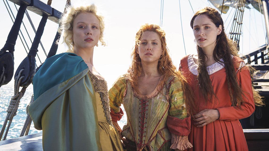 il cast di Jamestown