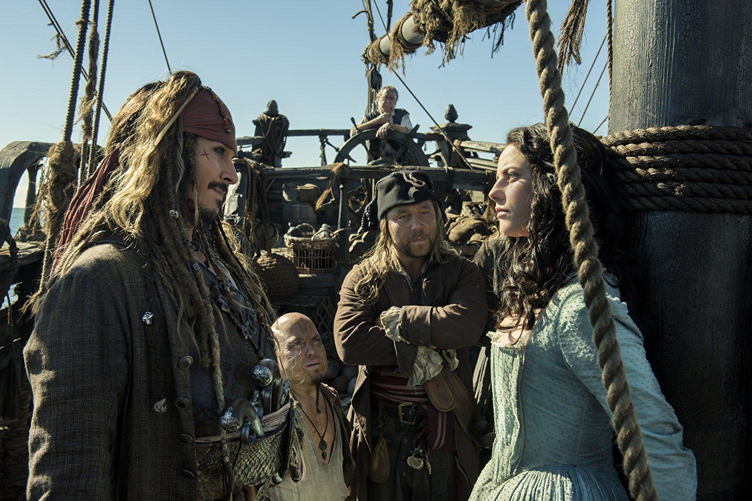 Johnny Depp e Kaya Scodelario