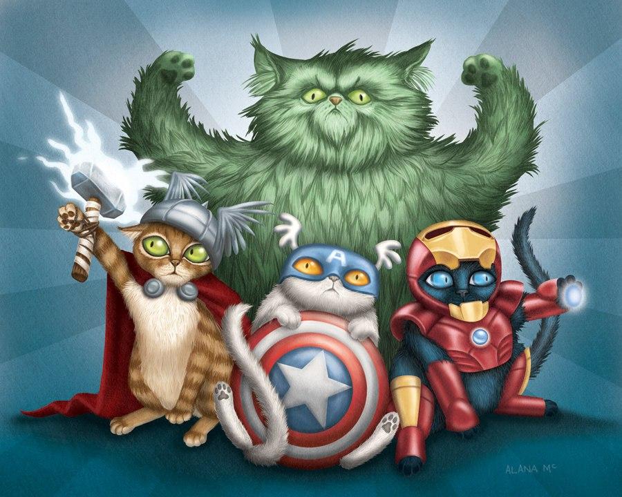 avengers cat