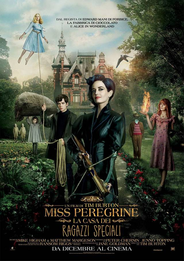 miss peregrine - house of peculiar children