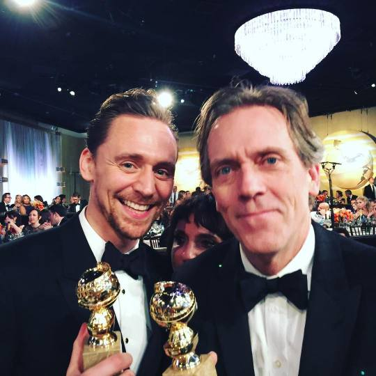 Tom Hiddleston e Hugh Laurie - The Night Manager